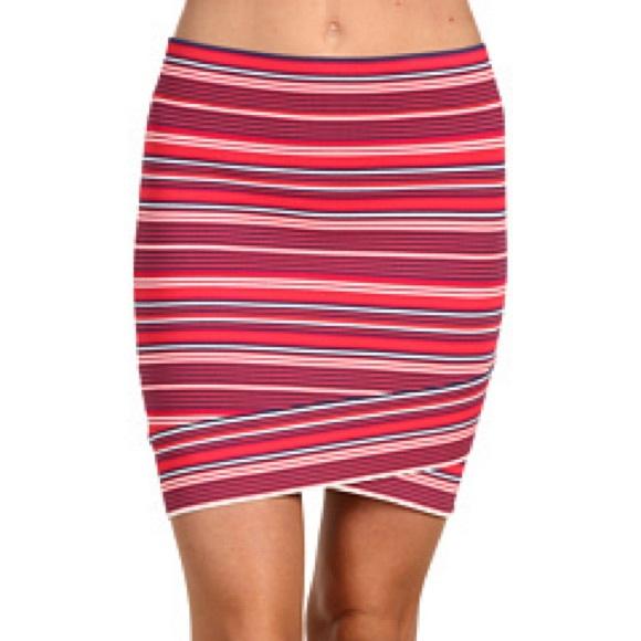 e69638468b BCBGMaxAzria Dresses   Skirts - BCBGMaxAzria Ivy Striped Skirt